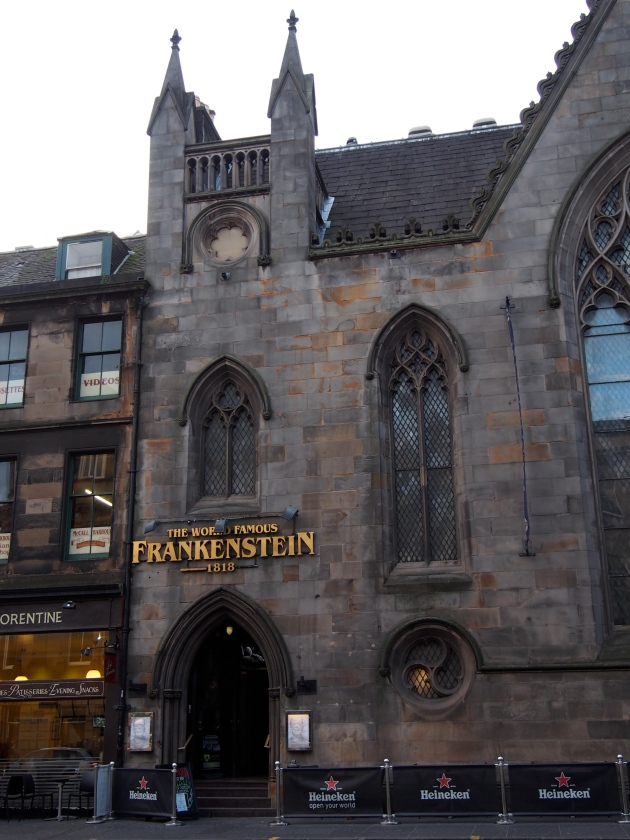 Frankenstein Edinburgh