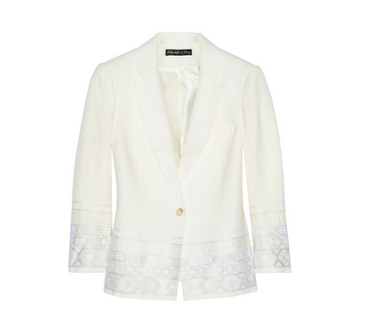 Elizabeth and James Hazel blazer